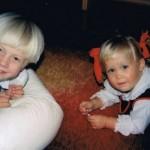 Morten Hake as a kid