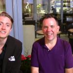Jamie Smart and Morten Hake in London