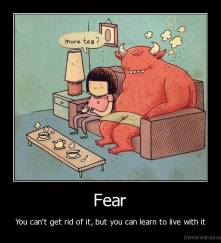 Lev med frykten