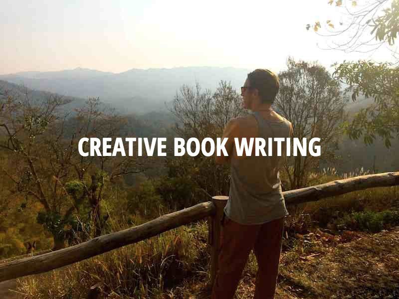 """inside creative writing podcast One of my treats at the end of a writing day is to go and being on the inside,"""" so to every monday in the creative penn podcast."""